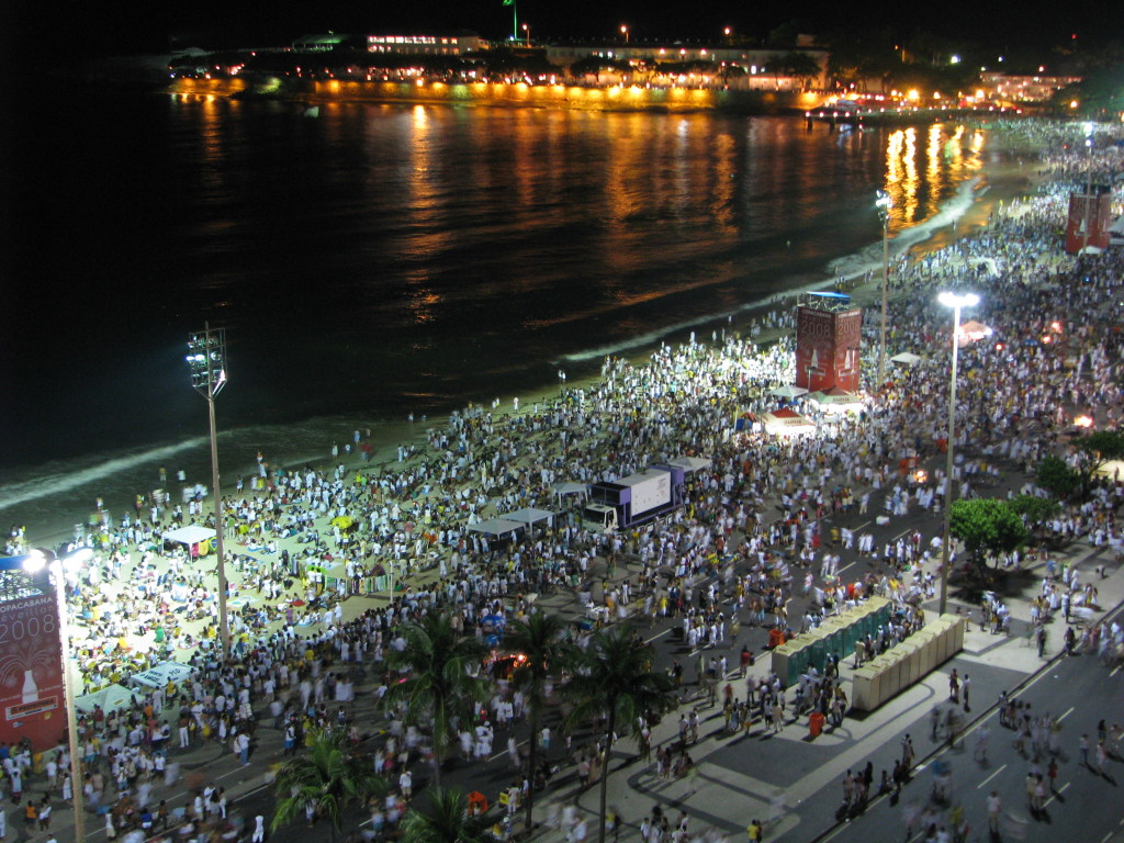 Copacabana Beach New Years Eve The Five Star Vagabond