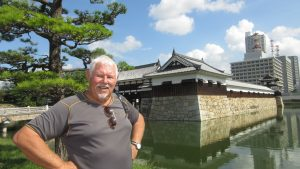 Hiroshima-Castle r-constructed-1958-Japan-atom-bomb