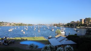 Farewell-Melbourne-hello-Sydney-Drummoyne-harbour-boats-mercedes